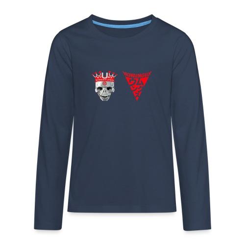 skull krone humungus3 png - Teenager Premium Langarmshirt