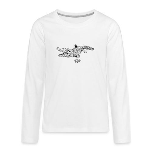 JUANCHO RIDES AGAIN MASTER - Teenagers' Premium Longsleeve Shirt