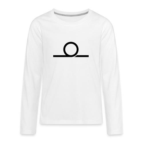 WHEEL LONG png - Teenagers' Premium Longsleeve Shirt