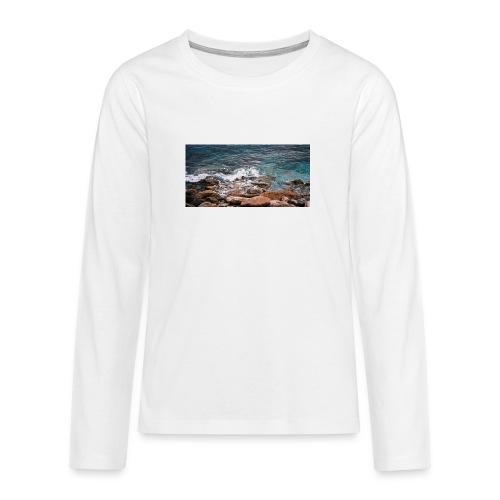 Handy Hülle Meer - Teenager Premium Langarmshirt
