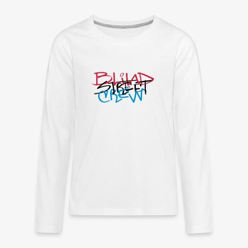 BSC Tag Rasta - Maglietta Premium a manica lunga per teenager