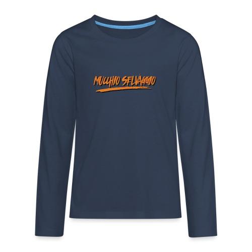 Mucchio Selvaggio 2016 Dirty Orange - Maglietta Premium a manica lunga per teenager