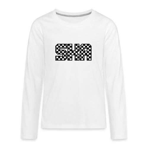 ska_in_blokjes - Teenagers' Premium Longsleeve Shirt