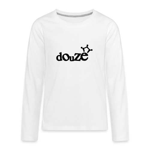 logo_douze - T-shirt manches longues Premium Ado