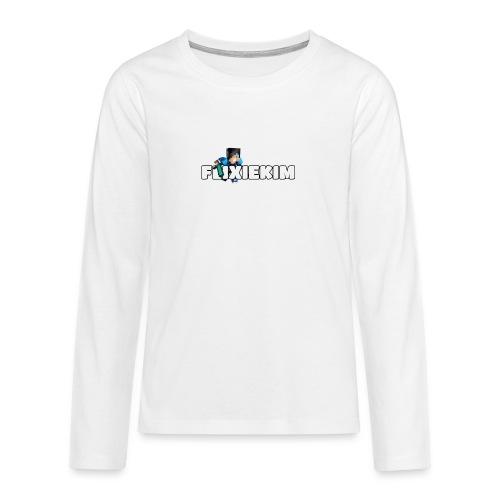 Flixiekim - Långärmad premium T-shirt tonåring