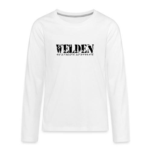 WELDEN_NE - Teenager Premium Langarmshirt