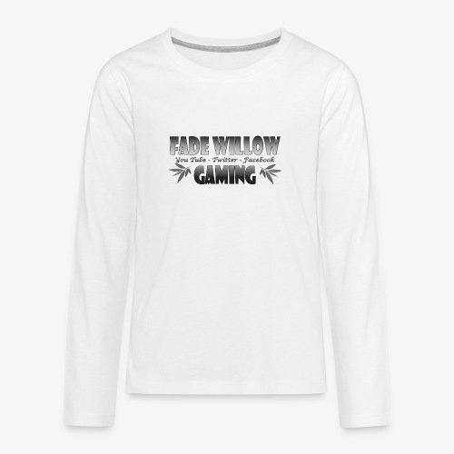 Fade Willow Gaming - Teenagers' Premium Longsleeve Shirt