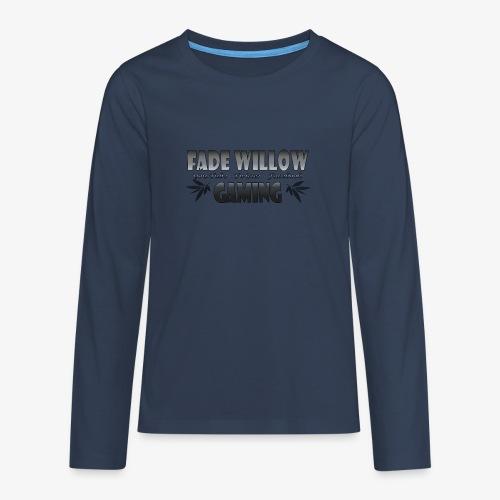 Fade Willow Gaming - Teenagers' Premium Longsleeve Shirt