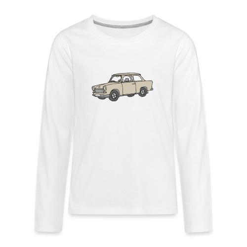 Trabi, Trabant (papirus) - Koszulka Premium z długim rękawem dla nastolatków