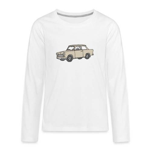 Trabi, Trabant (papyrus) - T-shirt manches longues Premium Ado