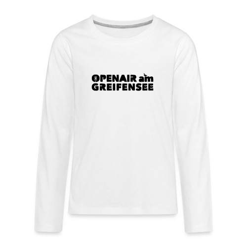 Openair am Greifensee 2018 - Teenager Premium Langarmshirt