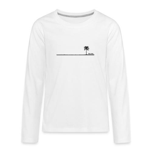 Palm dubai beach black and white - Maglietta Premium a manica lunga per teenager