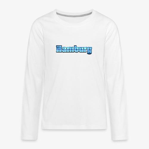 Hamburg - Teenager Premium Langarmshirt
