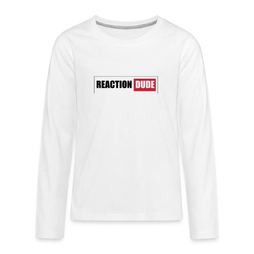 ReactionDude Gear - T-shirt manches longues Premium Ado