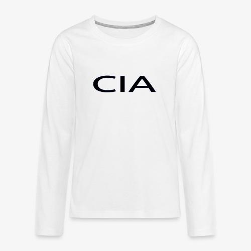 CIA - Teenagers' Premium Longsleeve Shirt