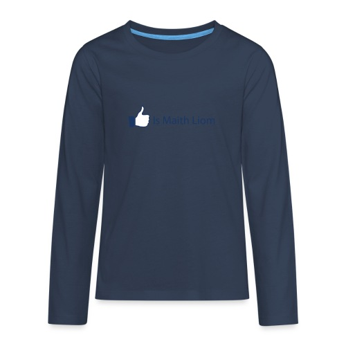 like nobg - Teenagers' Premium Longsleeve Shirt