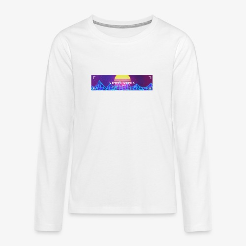 Vinny Remix low price - Maglietta Premium a manica lunga per teenager