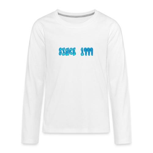 Since 1999 - Teinien premium pitkähihainen t-paita