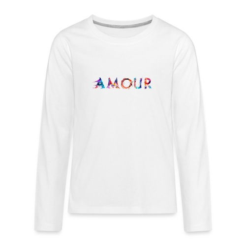 Amour - T-shirt manches longues Premium Ado