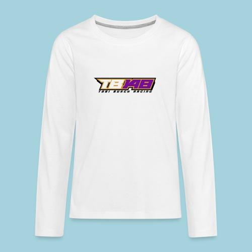 Tobi Logo schwarz - Teenager Premium Langarmshirt