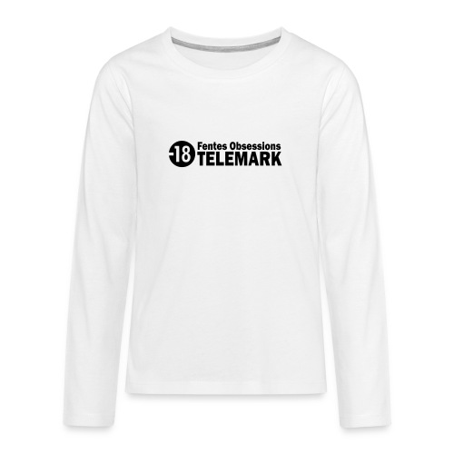 telemark fentes obsessions18 - T-shirt manches longues Premium Ado
