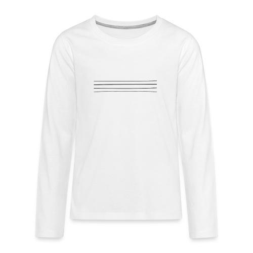 Re-entrant Womens White Tshirt - Teenagers' Premium Longsleeve Shirt