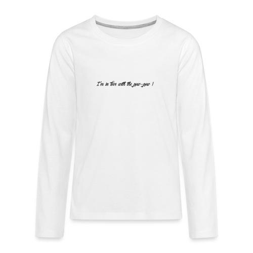 Pow-pow - T-shirt manches longues Premium Ado