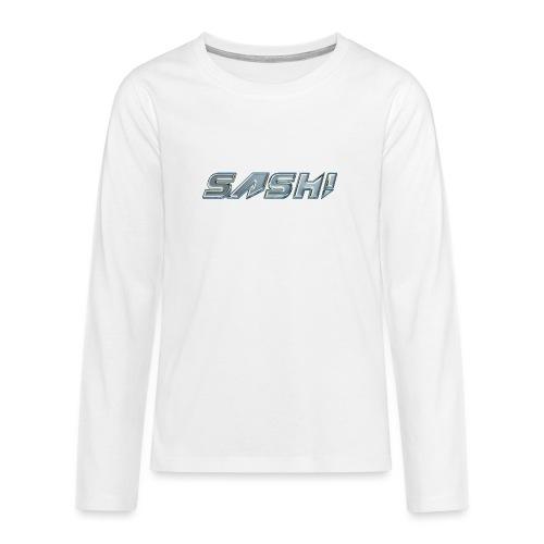 SASH! Logo 2 - Teenagers' Premium Longsleeve Shirt