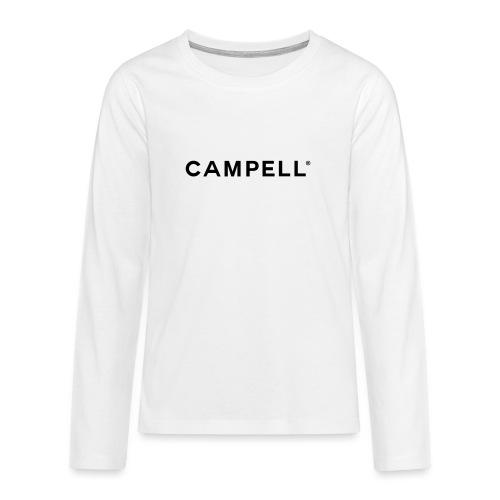 campell_schriftzug - Teenager Premium Langarmshirt