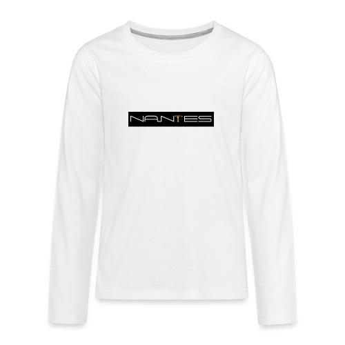 NanTes - T-shirt manches longues Premium Ado