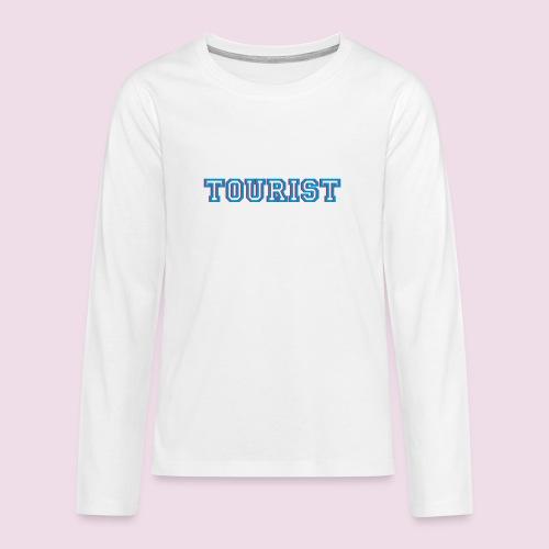 TOURIST - T-shirt manches longues Premium Ado