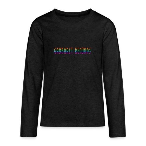 gabbaretr png - Teenager Premium shirt met lange mouwen