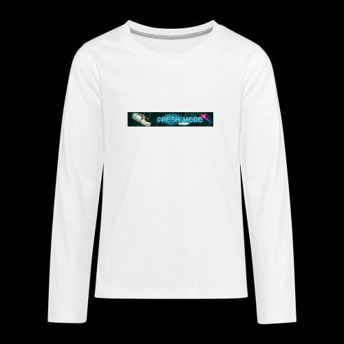 fresh here - Camiseta de manga larga premium adolescente