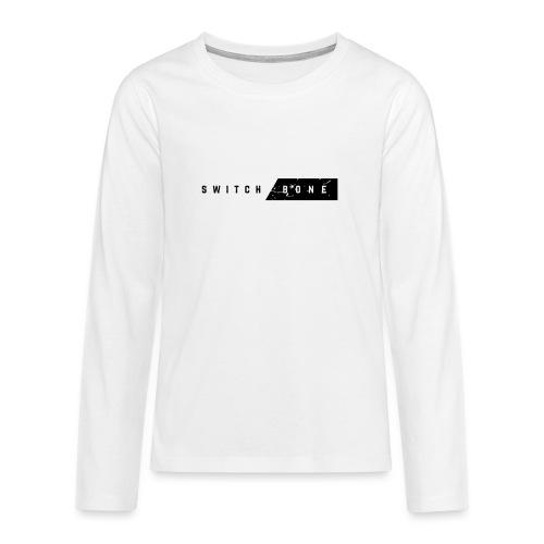 Switchbone_black - Teenager Premium shirt met lange mouwen