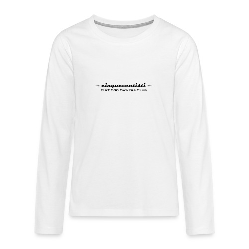 Cinquecentisti 500 Owners Club Vector - Maglietta Premium a manica lunga per teenager