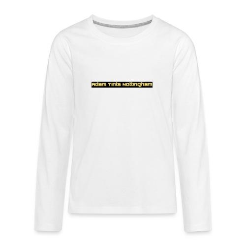 Adam Tints Nottingham - Teenagers' Premium Longsleeve Shirt