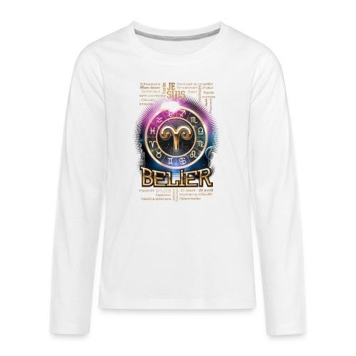 BELIER - T-shirt manches longues Premium Ado