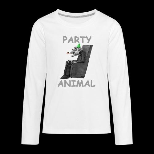 Miserable Git 2 - Teenagers' Premium Longsleeve Shirt