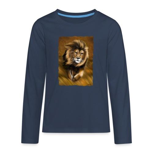 Il vento della savana - Maglietta Premium a manica lunga per teenager