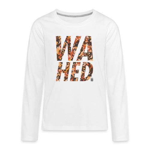 WAHED2 - Teenager Premium shirt met lange mouwen