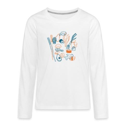 Sushi - Teenager Premium Langarmshirt