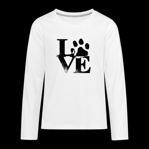 LOVE - T-shirt manches longues Premium Ado