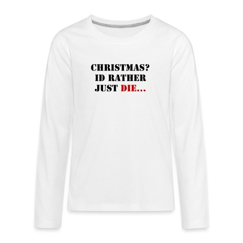 Christmas joy - Teenagers' Premium Longsleeve Shirt