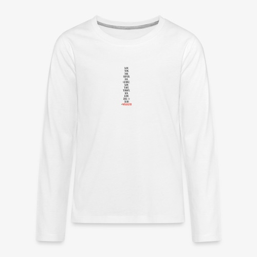 Tom Dan Oliver Joe George - Teenagers' Premium Longsleeve Shirt