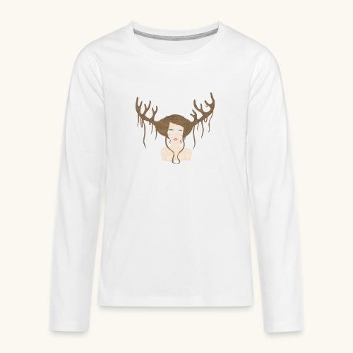 Blind Deer. - T-shirt manches longues Premium Ado
