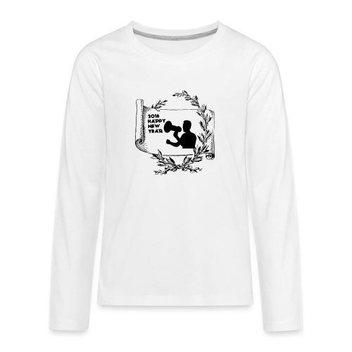 Happy New Year 2018 - T-shirt manches longues Premium Ado