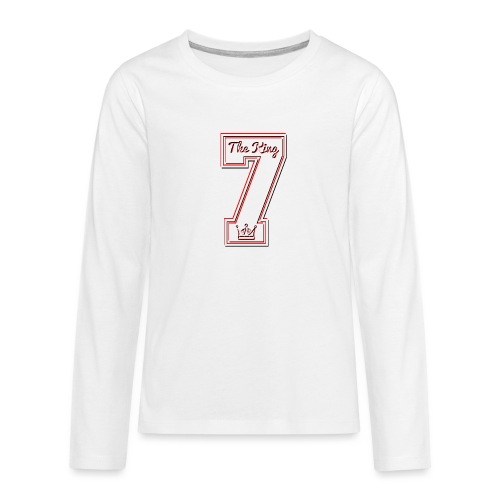 Collection THE KING 7 - T-shirt manches longues Premium Ado