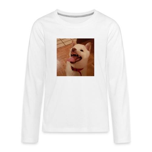 Mein Hund xD - Teenager Premium Langarmshirt