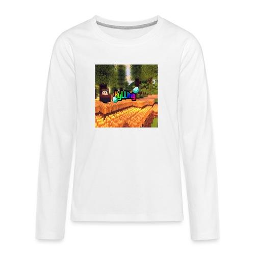 Kyllinge Merch - Teenager premium T-shirt med lange ærmer