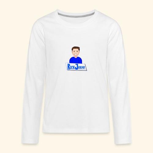 RickJeremymerchandise - Teenager Premium shirt met lange mouwen